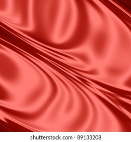 Red drapery texture