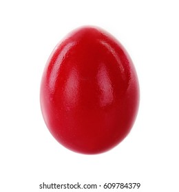 red easter egg isolated