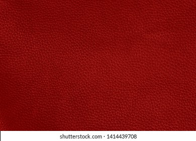 Red elegance leather texture for background
