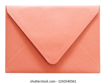 Red  envelope isolated on white background