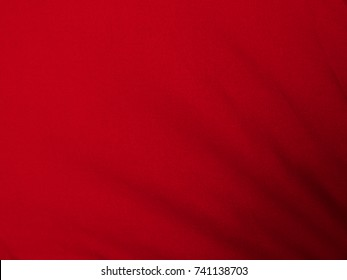 red fabric cloth texture background