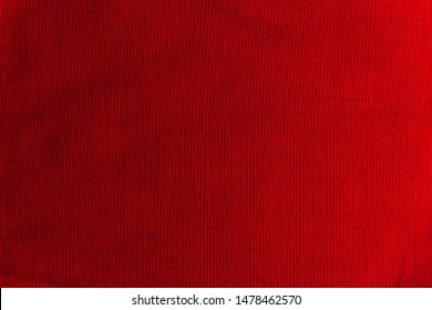 red fabric texture with folds