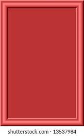 red fantasy frame