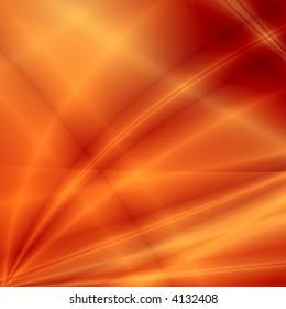 Red fantasy rays