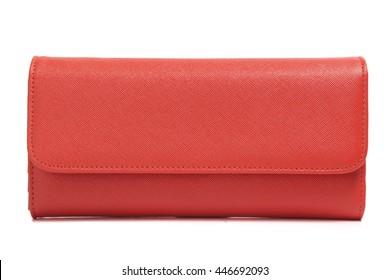 Red female clutch