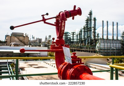 red fire fix monitor for plant emergency