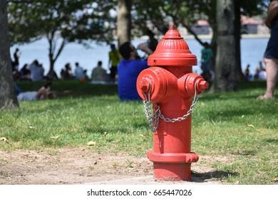 Red Fire Pump