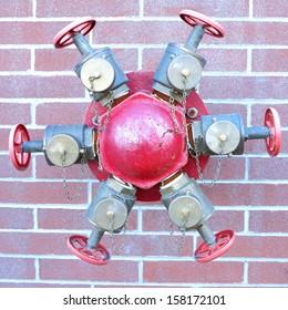 Red fire spigot