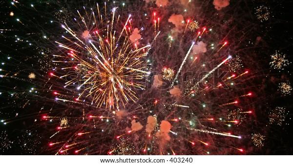 Red Fireworks_1