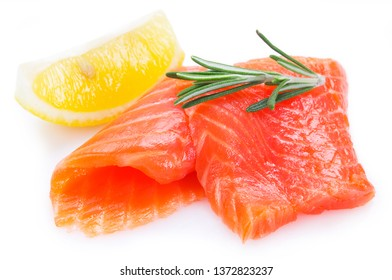 red fish isolated on white background