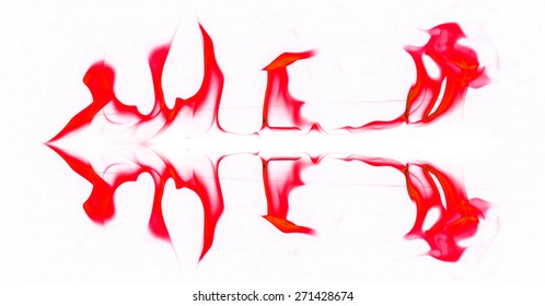 Red flame graphics on a white background.