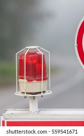 Red Flashing Emergency