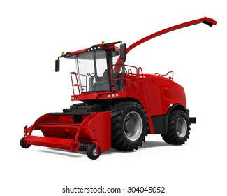 Red Forage Harvester