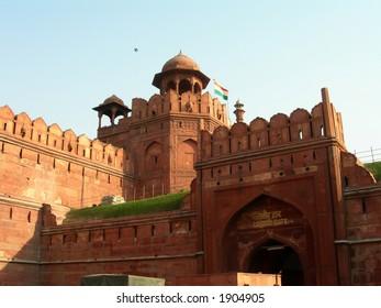 Red Fort in Delhi in India.