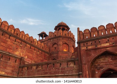 The Red Fort in New Delhi, India was the main residence of the emperors of the Mughal dynasty  until 1856