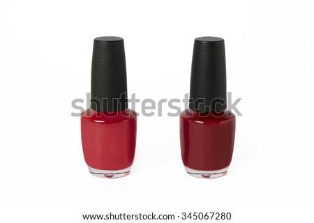 a23b37d94ded Red Fuchsia Burgundy Nail Polish Bottle Stock Photo (Edit Now ...