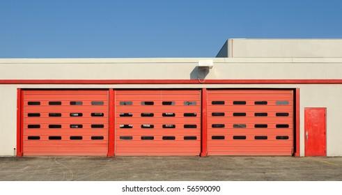 Red Garage Door Images Stock Photos Vectors Shutterstock