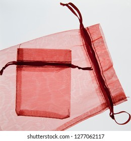 red gift bags, Valentine's day