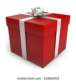 Open gift box vector design template 330856448 red gift box isolated on white clipping included for easy selection negle Gallery