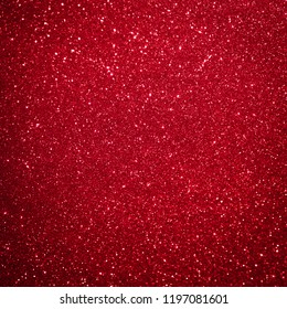 Red glitter background christmas abstract
