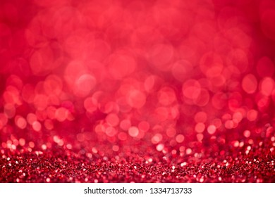 Red glitter christmas abstract background