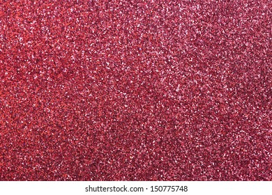 Red glitter for texture or background
