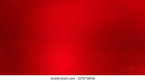 Red glitter vintage lights background. defocused. Background christmas