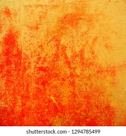 Red and gold abstract textured background. Chinese new year artistic wallpaper. Spring fesitval design element.