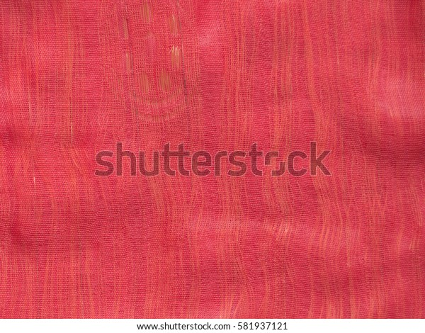 Red and gold fabric texture
