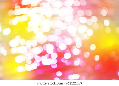 Red gold white bokeh with white color abstract background can be use as wallpaper, Christmas card background or new year card background. The background show light bokeh which on defocused light.