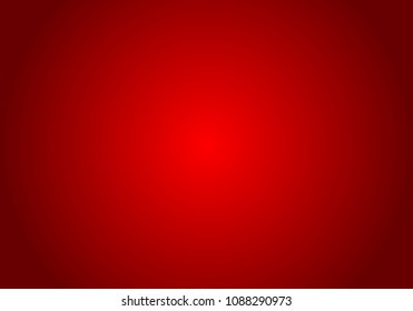 Red Gradient abstract background. Red template background. Red empty room studio gradient used for background