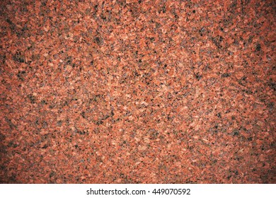 Red granite slab closeup may be used as background zoom in detail 1