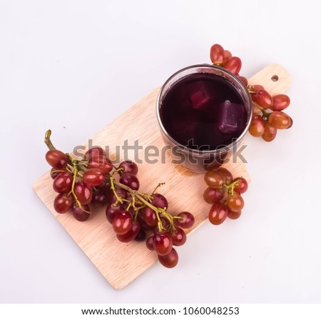Red Grape Juice Provides Health Benefits Stock Photo Edit Now