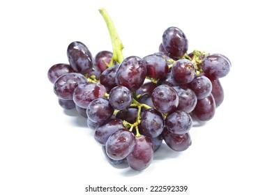 Red Grapes (Vitis vinifera L.)