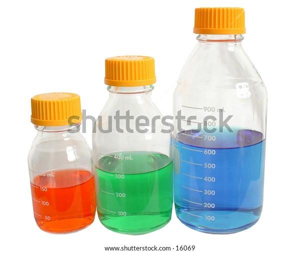 Red, Green, Blue Bottles