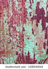 Red and green grunge background