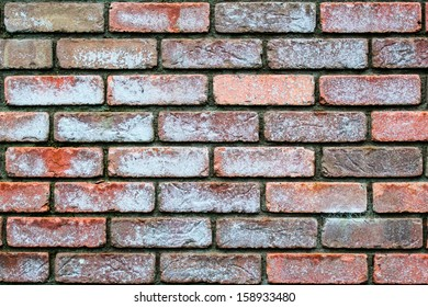 Red and grey brickwork