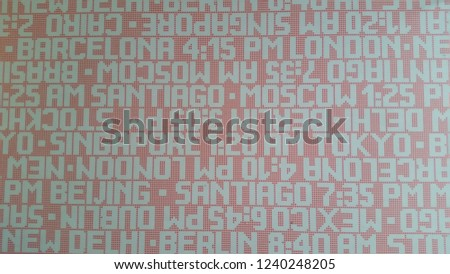 Office floor texture Grocery Store Floor Red Grey Office Floor Texture With City Names And Times Shutterstock Red Grey Office Floor Texture City Stock Photo edit Now 1240248205