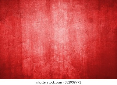 Red grunge textured wall