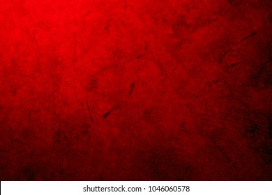 Red grunge textured wall background