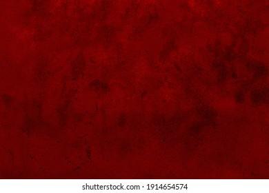 Red grunge wall textured background