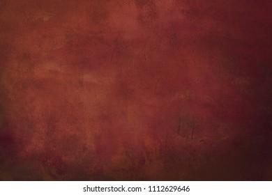 red grungy painting background