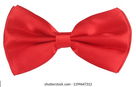 Red hair bow tie or necktie
