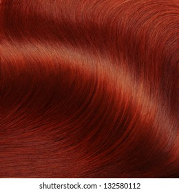 Red Hair Texture. High quality image.