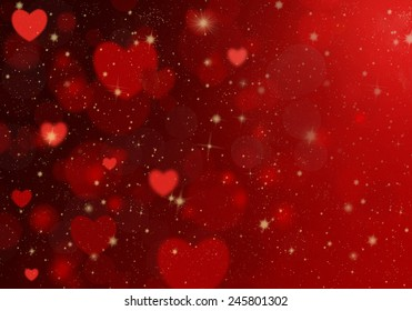Red heart on a red background. Background Valentine's Day.