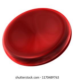 Red Hemoglobin Vein Health 3D Background.