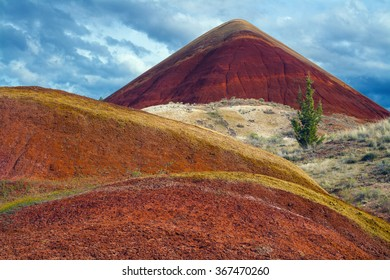 Red Hill in the Painted Hills, Oregon