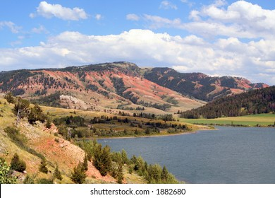 Red Hills, Slide Lake