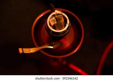 Red hookah