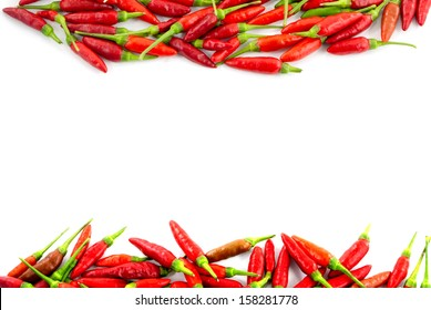 Red hot chili peppers border